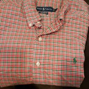 Ralph Lauren XL button down long sleeve